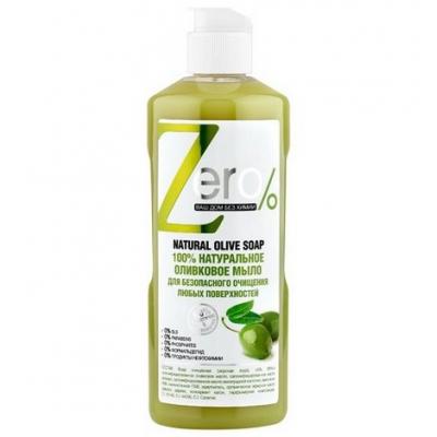 ZERO Naturalne mydło oliwkowe do prania i czyszczenia różnych powierzchni 500ml