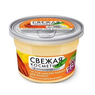 Naturalny gęsty olej-kakao do włosów Rewitalizujący 180 ml
