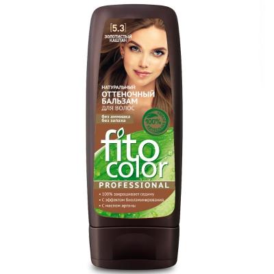 Fito Color Naturalny balsam koloryzujący do włosów Złoty kasztan 140 ml
