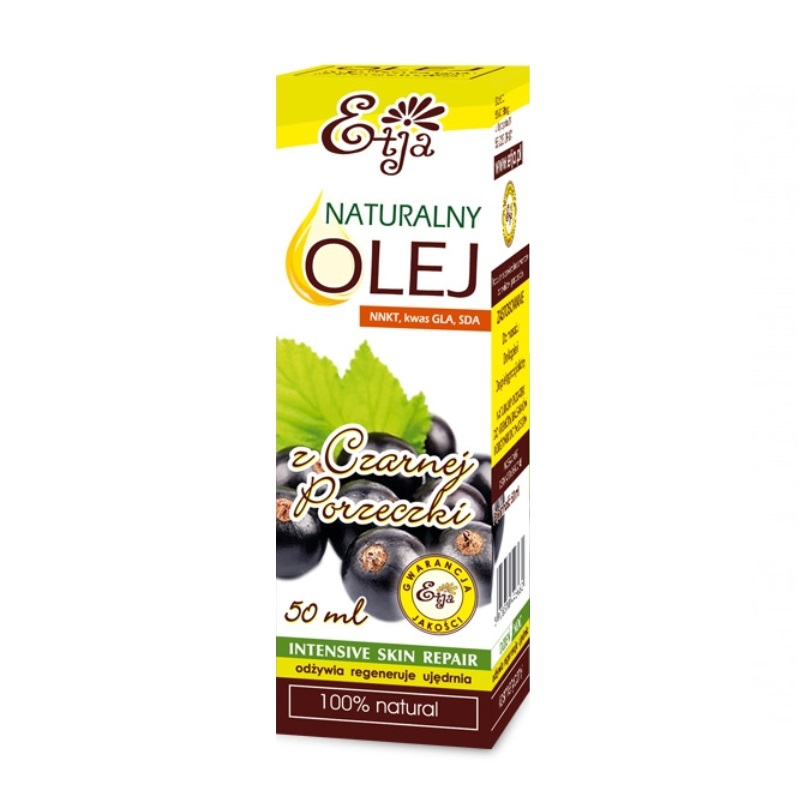 Olej z czarnej porzeczki 50ml