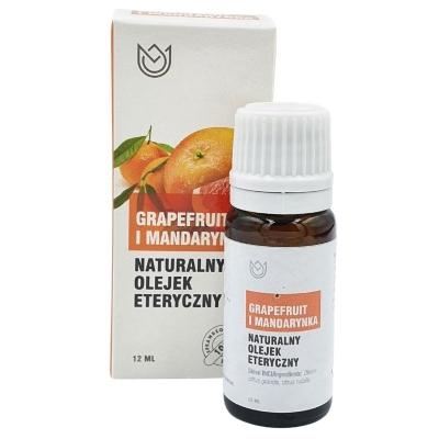 Naturalny olejek eteryczny Grapefruit i Mandarynka 12ml