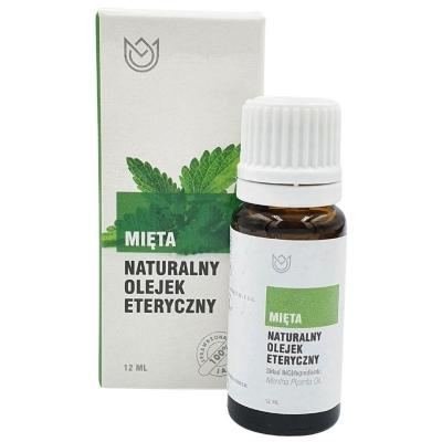 Naturalny olejek eteryczny Mięta 12ml