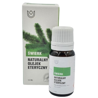 Naturalny olejek eteryczny Świerk 12ml