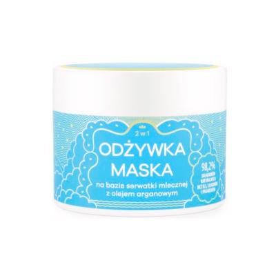 Odżywka-Maska 2w1 na bazie serwatki mlecznej z olejem arganowym 250 ml