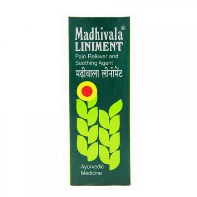 Ayurvedyjska Madhivala - Płyn do nacierania 90ml