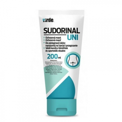 Sudorinal Uni - maść do skóry narażonej na tarcia i przegrzanie 200ml