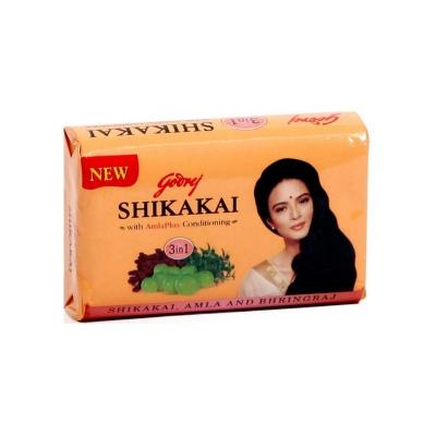 Mydło do włosów 3w1 SHIKAKAI z Amlą Odżywcze Godrej 75g