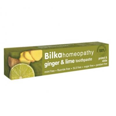 BILKA Pasta do zębów homeopatyczna Ginger&Lime 75ml
