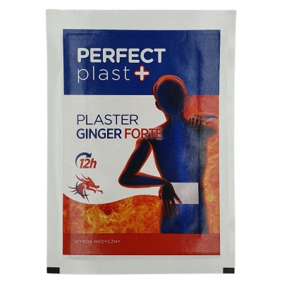 Perfect Plast Plaster Ginger Forte z wyciągiem z Imbiru 1 szt. 12x18cm