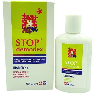 STOP DEMODEX Szampon do włosów 100ml