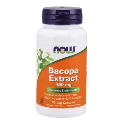 Bacopa Extract 450mg 90 kaps.