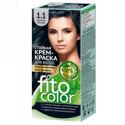 Farba do włosów Fitocosmetic Niebiesko czarny