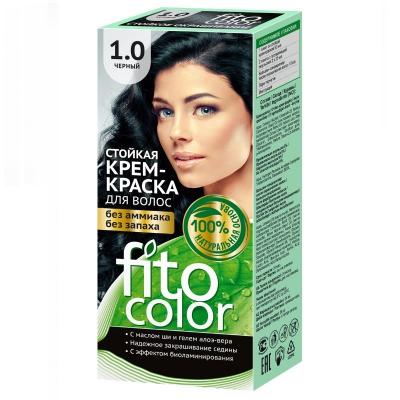Farba do włosów Fitocosmetic Czarna