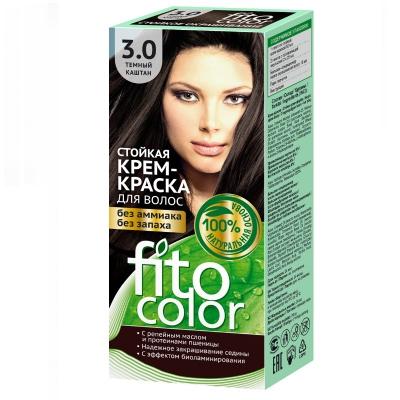 Farba do włosów Fitocosmetic Ciemny kasztan