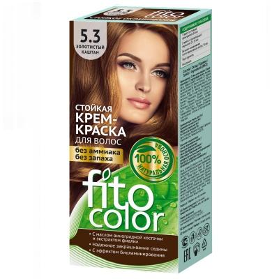 Farba do włosów Fitocosmetic Złoty Kasztan