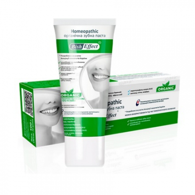 Pasta do zębów z biszofitem homeopatyczna 100g
