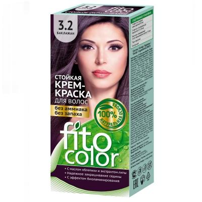 Farba do włosów Fitocosmetic Bakłażan