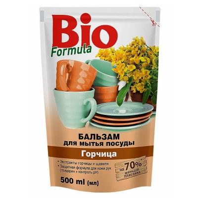 Bio Formuła Balsam do naczyń z gorczycą ZAPAS 500ml