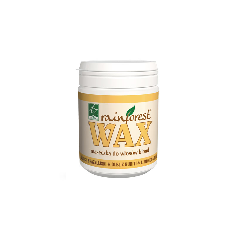 Wax Rainforest Maseczka do włosów blond 250ml