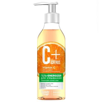 C+ Citrus Żel-energizer do mycia twarzy z kompleksem przeciw starzeniu Anti Age 250ml