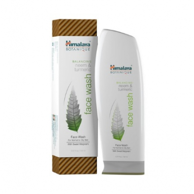 Żel do mycia twarzy botaniczny Normalizujący Himalaya 150ml