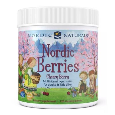 Nordic Naturals Multiwitamina smak wiśniowy 120 żelek