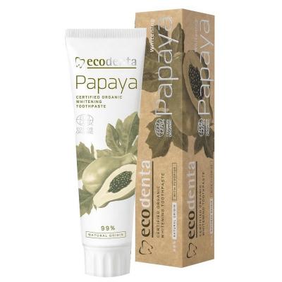 Eco Denta Organiczna Pasta do zębów Papaya 100ml