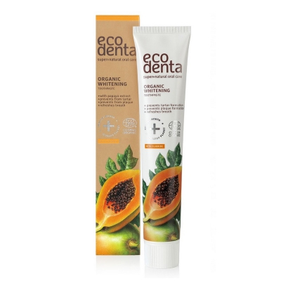 Eco Denta Organiczna Pasta do zębów Papaya wybielająca 75ml