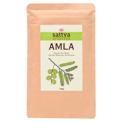 Maseczka do włosów ziołowa Amla 100g