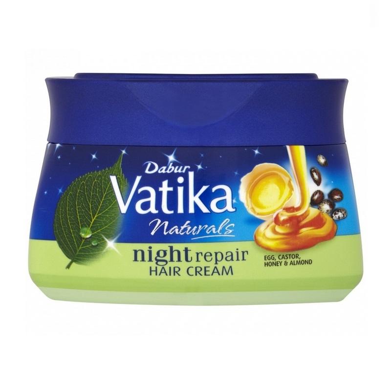 Vatika Krem do włosów naprawczy na noc 140ml