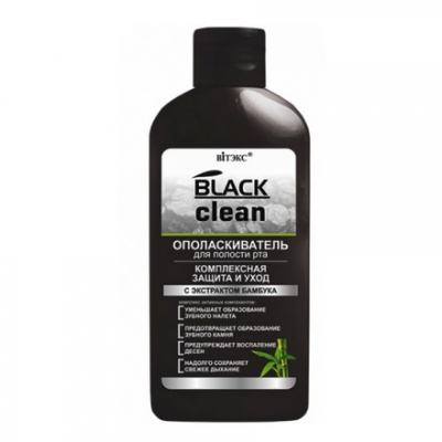 BELITA Black Clean Płyn do płukania ust 285ml