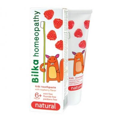 BILKA Pasta do zębów homeopatyczna dla dzieci +6 50ml