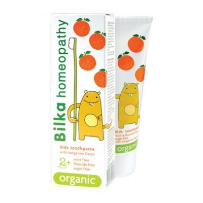 BILKA Pasta do zębów homeopatyczna dla dzieci +2 50ml