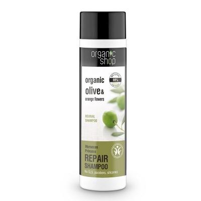 Organic Shop Szampon do włosów Organiczna Oliwa regenerujący 280ml