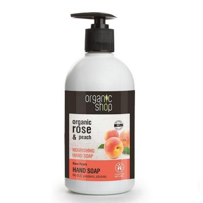 Organic Shop Mydło Różowe Brzoskwinie odżywcze 500ml