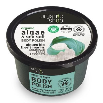 Organic Shop Pasta do ciała Atlantyckie Algi 250ml