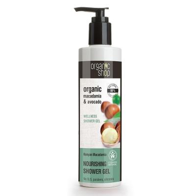Organic Shop Żel pod prysznic Kenijska Makadamia nawilżający 280ml
