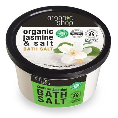 Organic Shop Sól do kąpieli Kaszmir - jaśmin 250ml