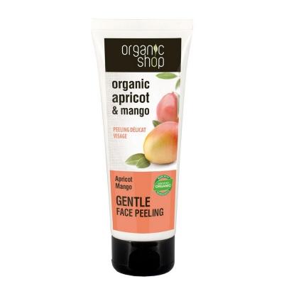 Organic Shop Peeling do twarzy Brzoskwinia - mango 75ml