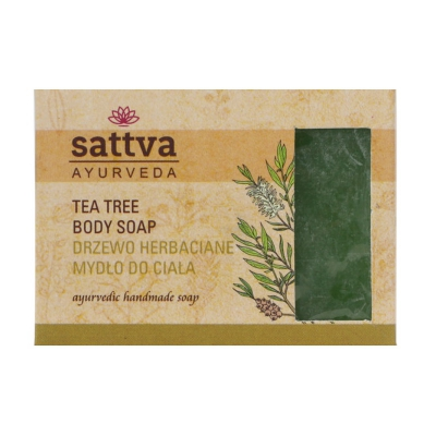 Mydło drzewo herbaciane glicerynowe Sattva 125g