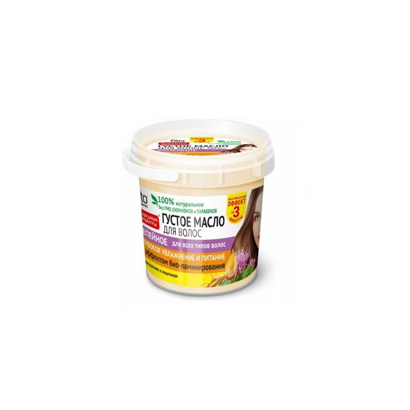 Gęsty olejek do włosów łopianowy 155ml