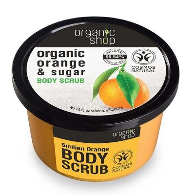 Organic Shop Peeling do ciała Sycylijska pomarańcza 250ml
