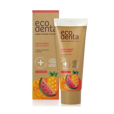 Eco Denta Organiczna Pasta do zębów dla dzieci Owocowa 75ml