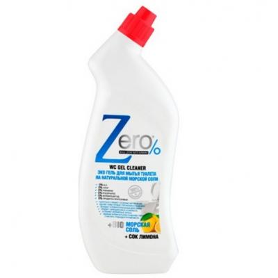 ZERO Żel ekologiczny do czyszczenia toalet morska sól/cytryna 750ml