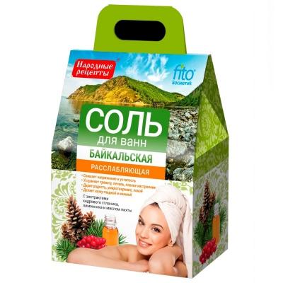 Sól do kąpieli Bajkalska rozluźniająca 500g