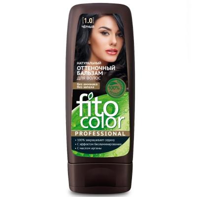Fito Color Naturalny balsam koloryzujący do włosów Czarny 140 ml