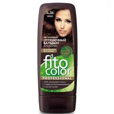 Fito Color Naturalny balsam koloryzujący do włosów Mokka 140 ml